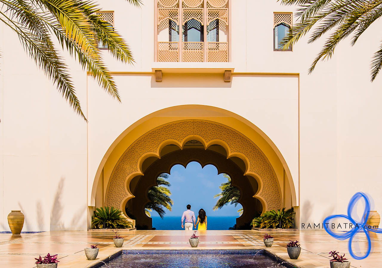 Destination Wedding Photography - Al Bustan Palace, Muscat