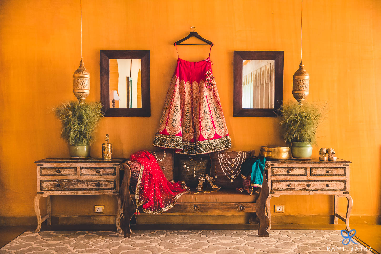 Suryagarh Jaisalmer Destination Wedding - Deepika & Anuj