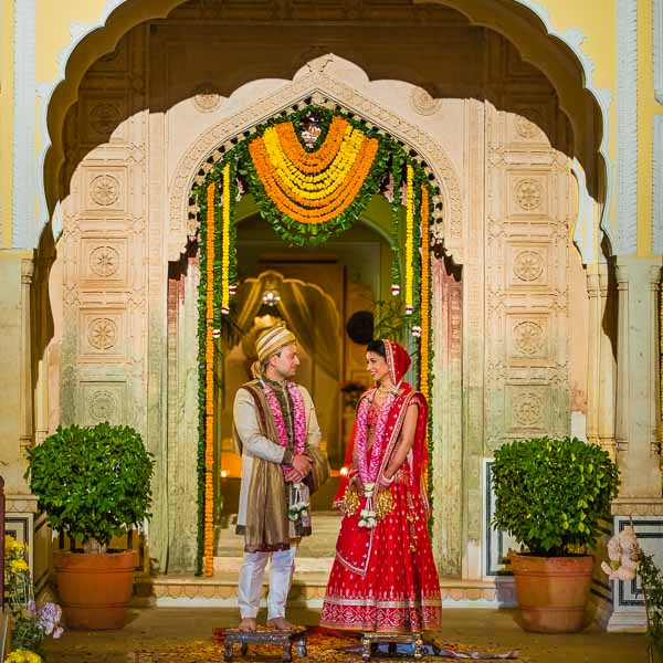 Samode Palace - Destination Wedding Photography & Film - Jaipur, Rajasthan