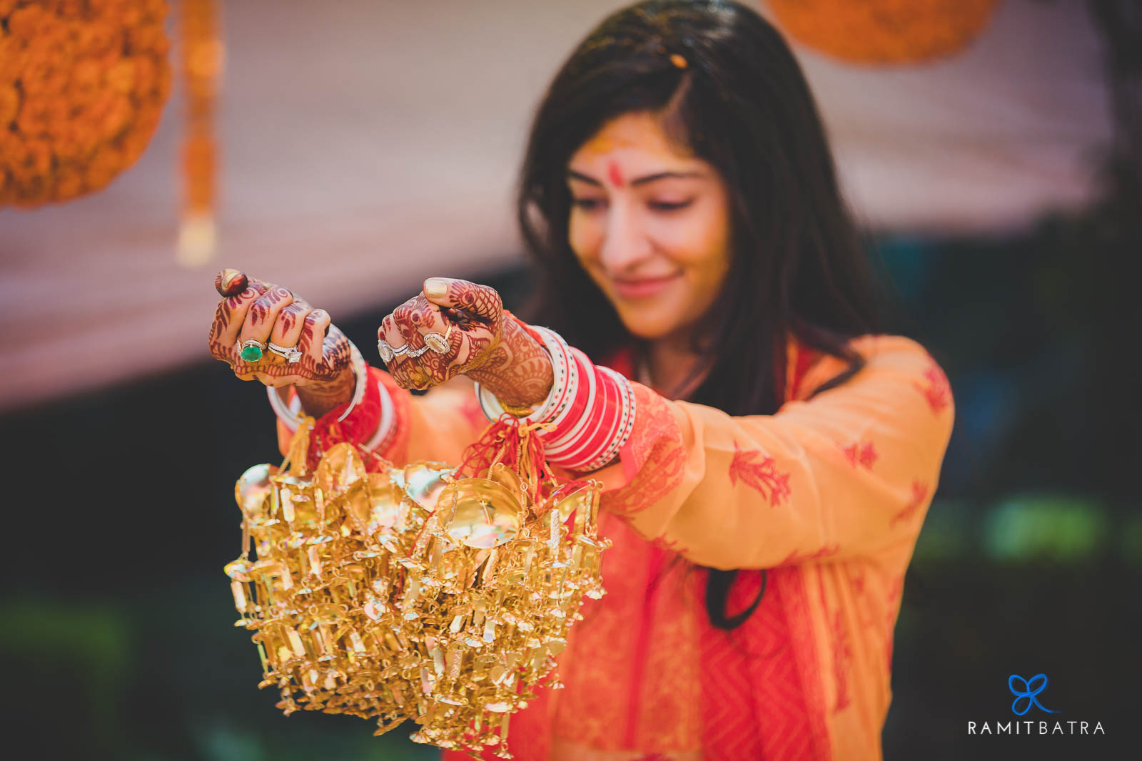 Kaleerey at the Chooda Ceremony - Indian wedding traditions and customs