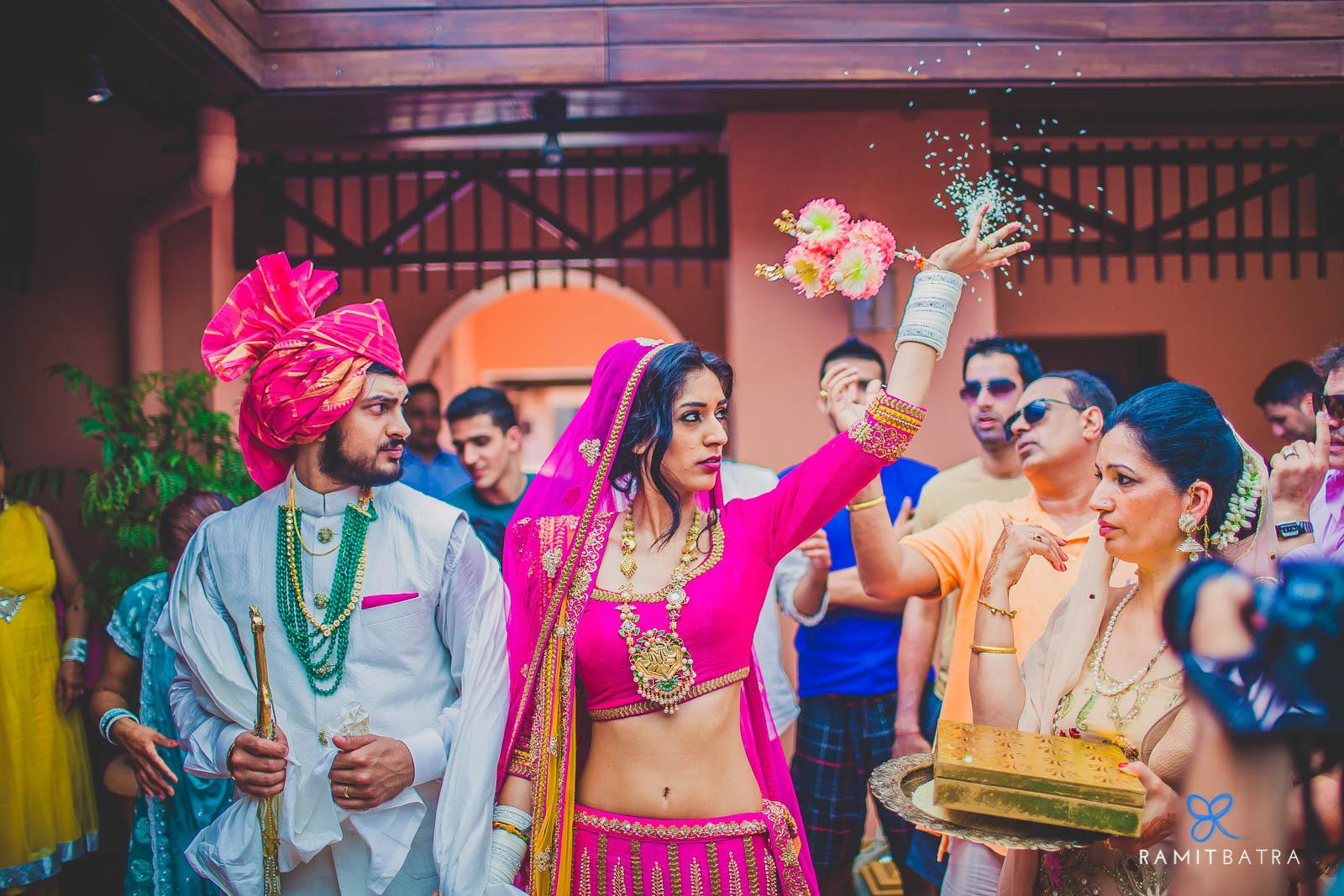 Punjabi Wedding - Bidai at Park Hyatt Resort and Spa, Goa