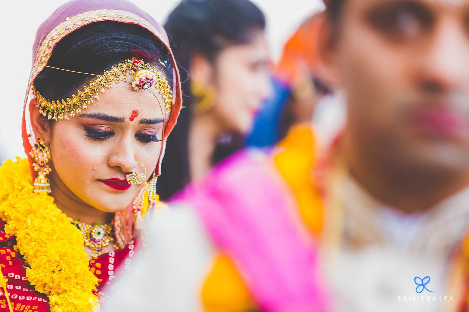 The Bride Tears-up at Bidai in Ajmer