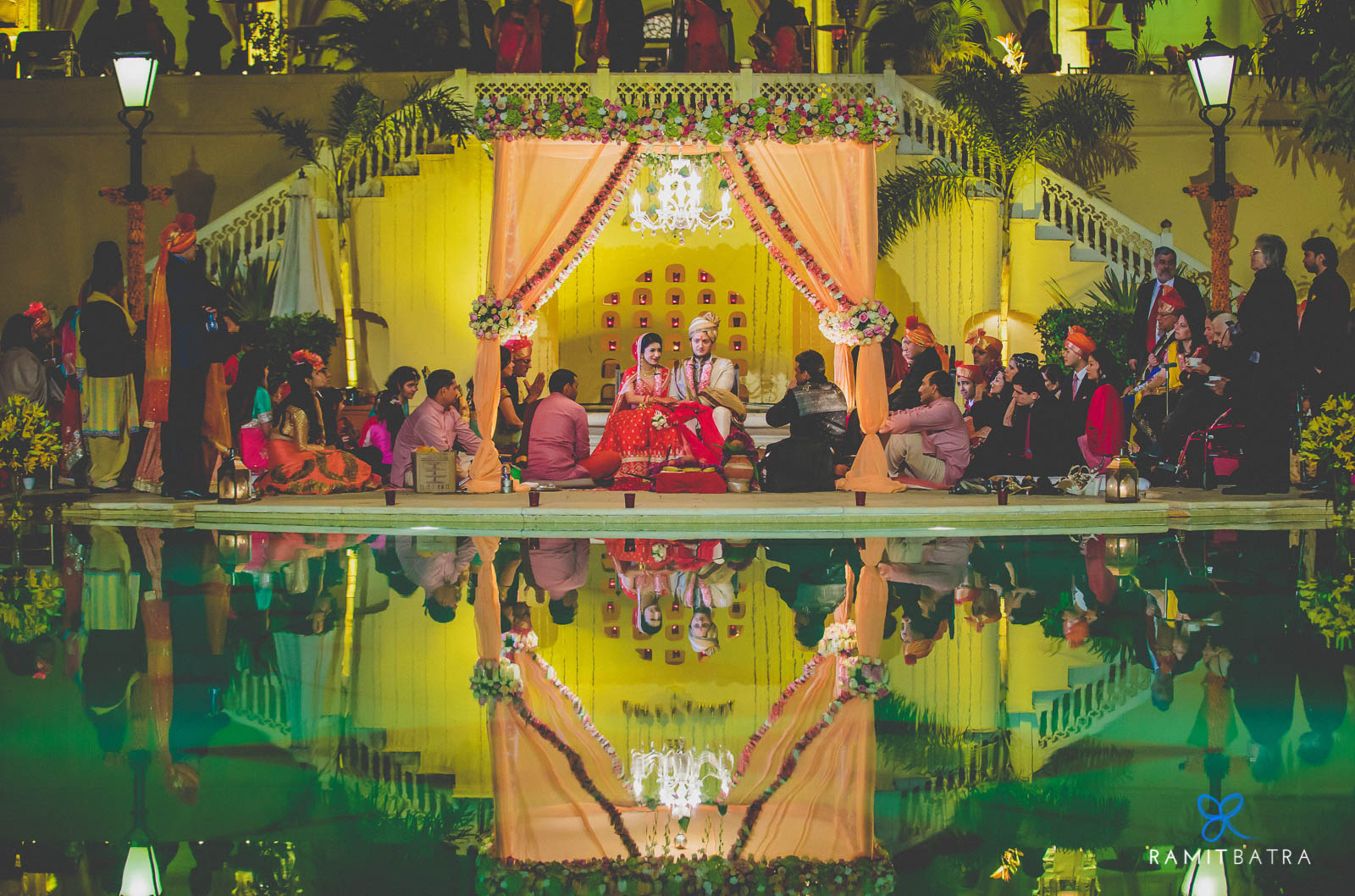 Beautiful Mandap - Samode Bagh & Palace, Rajasthan