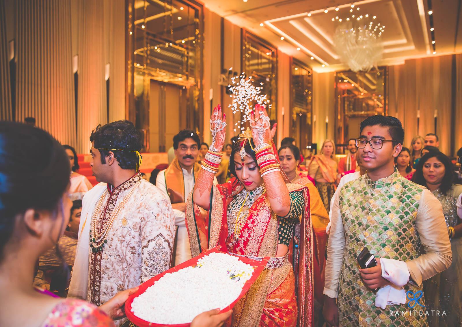 Kolkata Bengali-Telugu Wedding at JW Marriott - Ramit Batra Photography