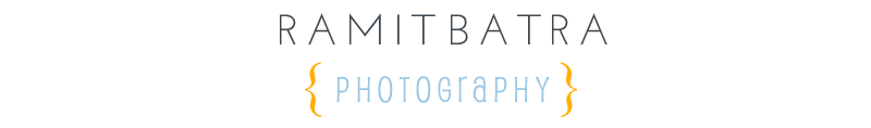 Ramit Batra Photography Blog logo